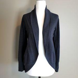 Joe Fresh, Charcoal cacoon style cardigan, XS